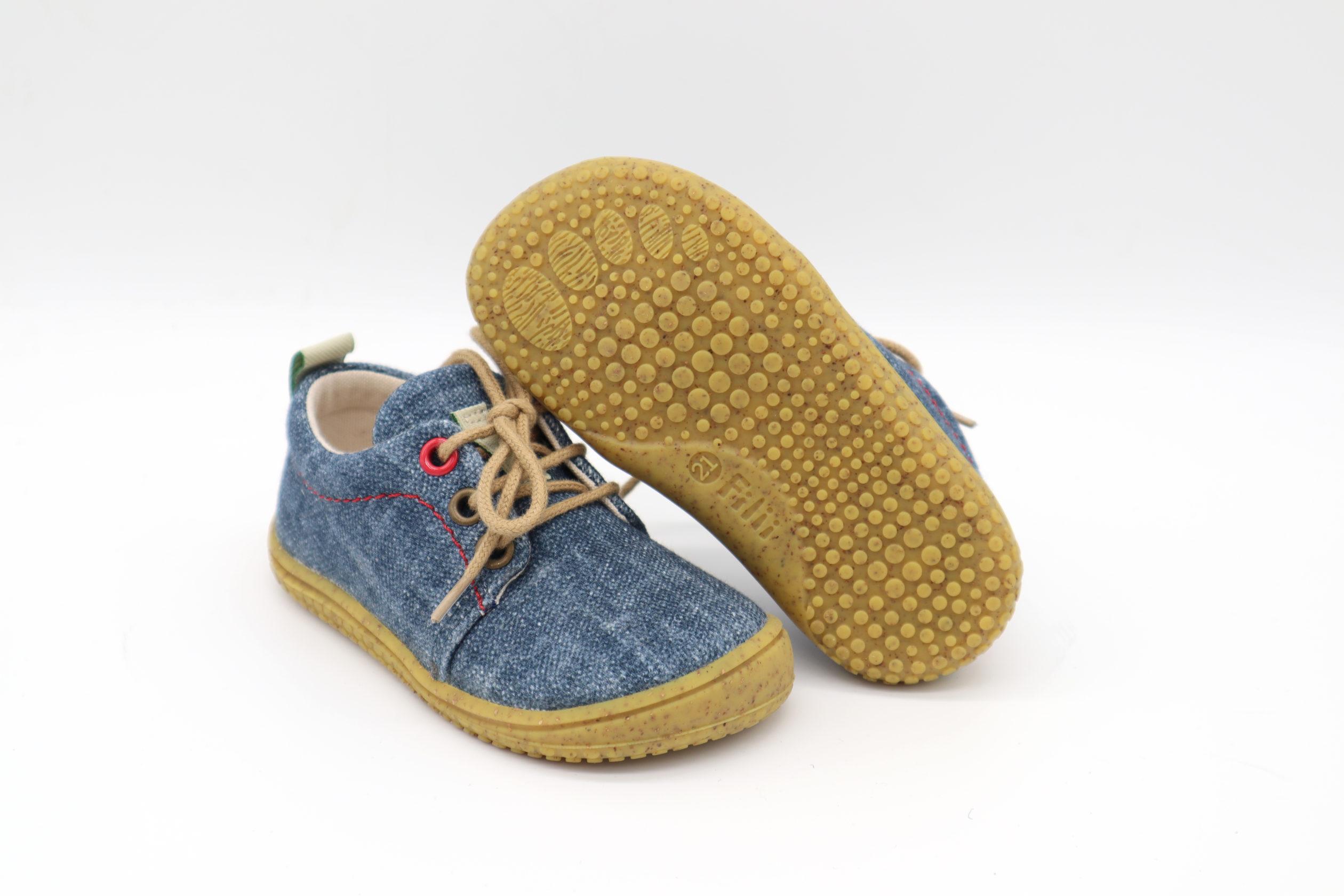 Sneaker, Bio-Baumwolle, vegan, Schnürer, jeans