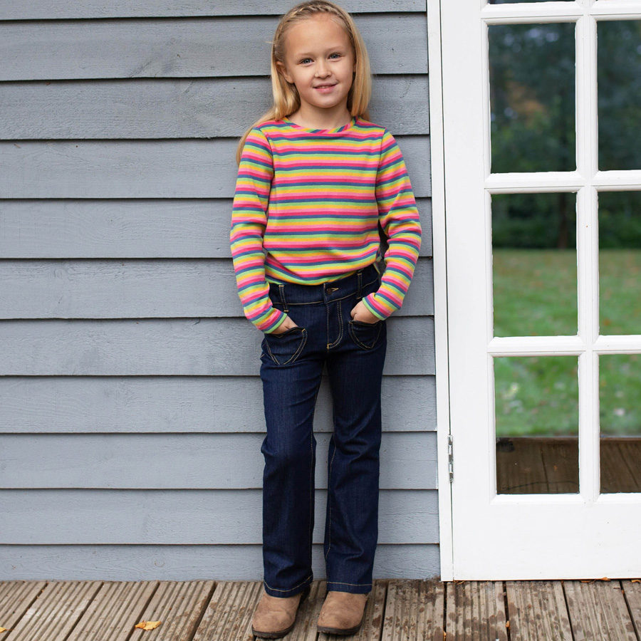 Jeanshose für Mädchen von Kite