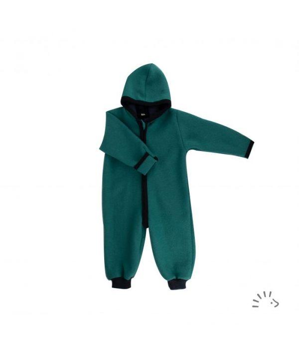 Wollwalk Overall, smaragd von popolini