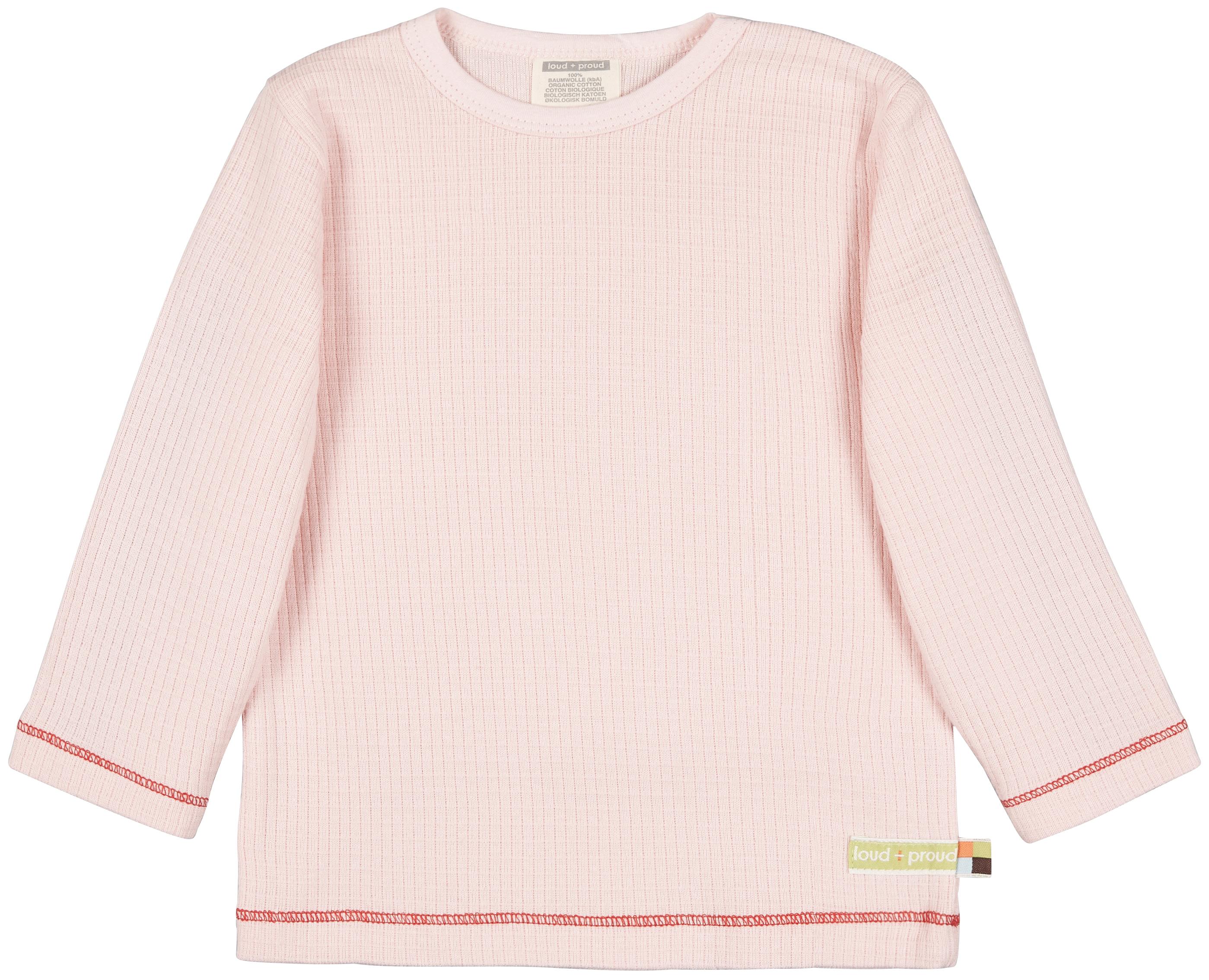 Langarmshirt, waffelstruktur, veerschiedene Farben