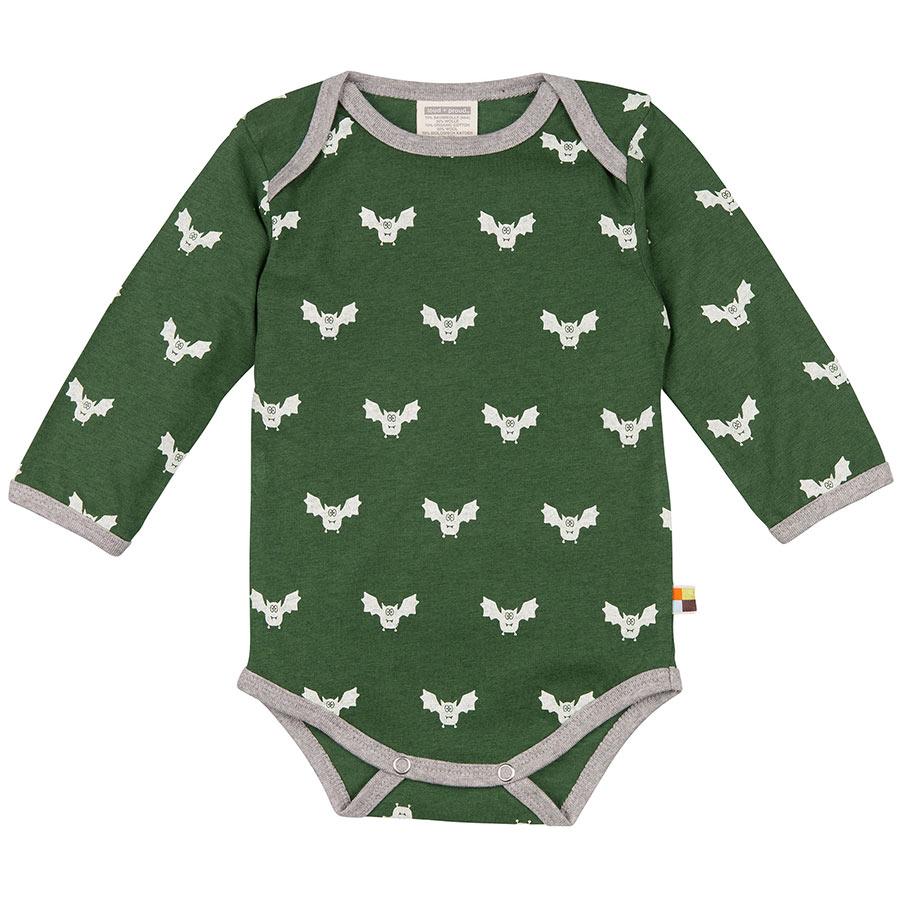 Body Fledermaus dunkelgrün
