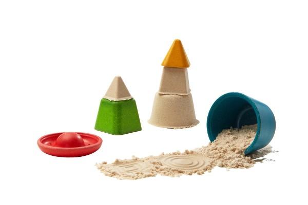 Sandspielzeug aus Holz