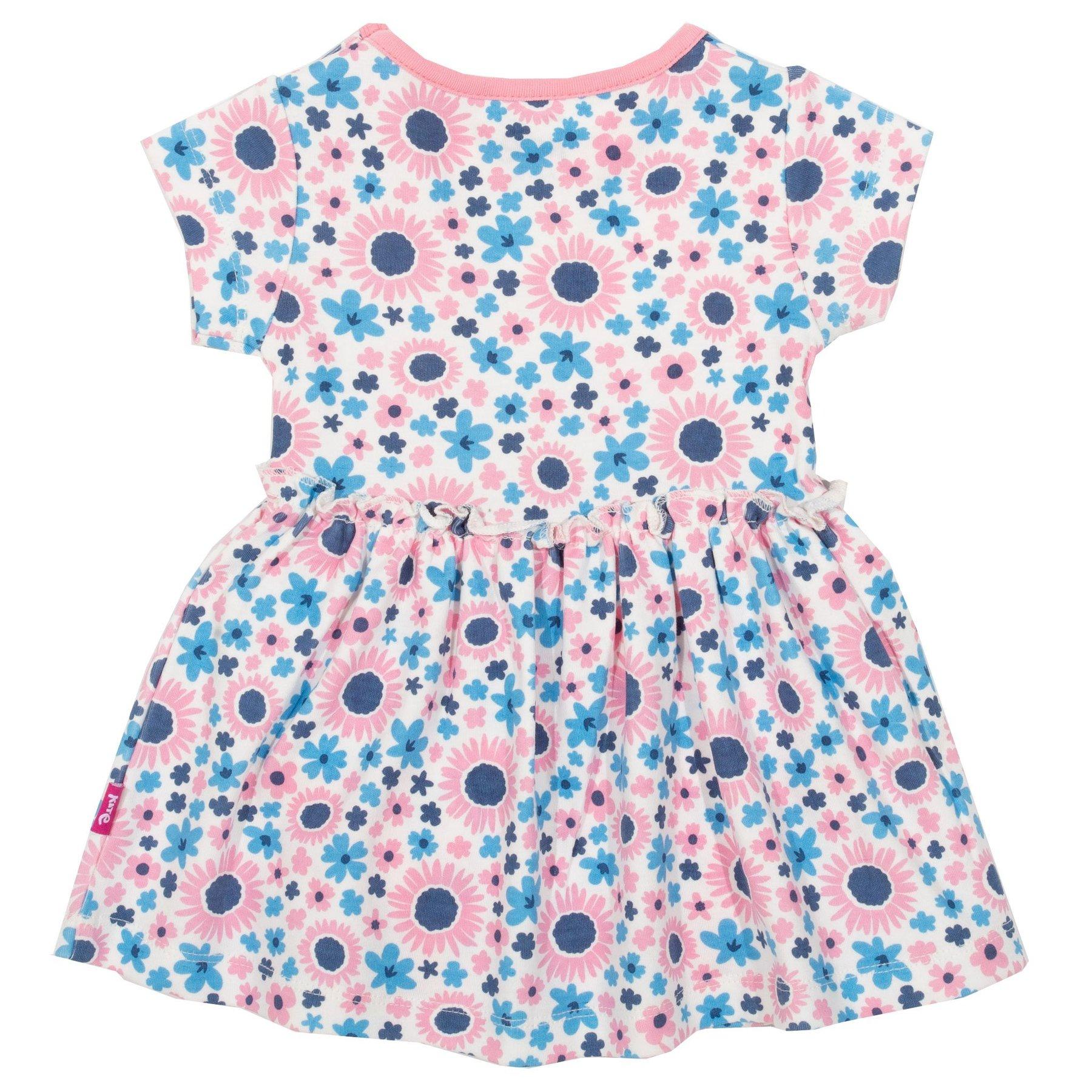 Body-Kleid mit Blumen