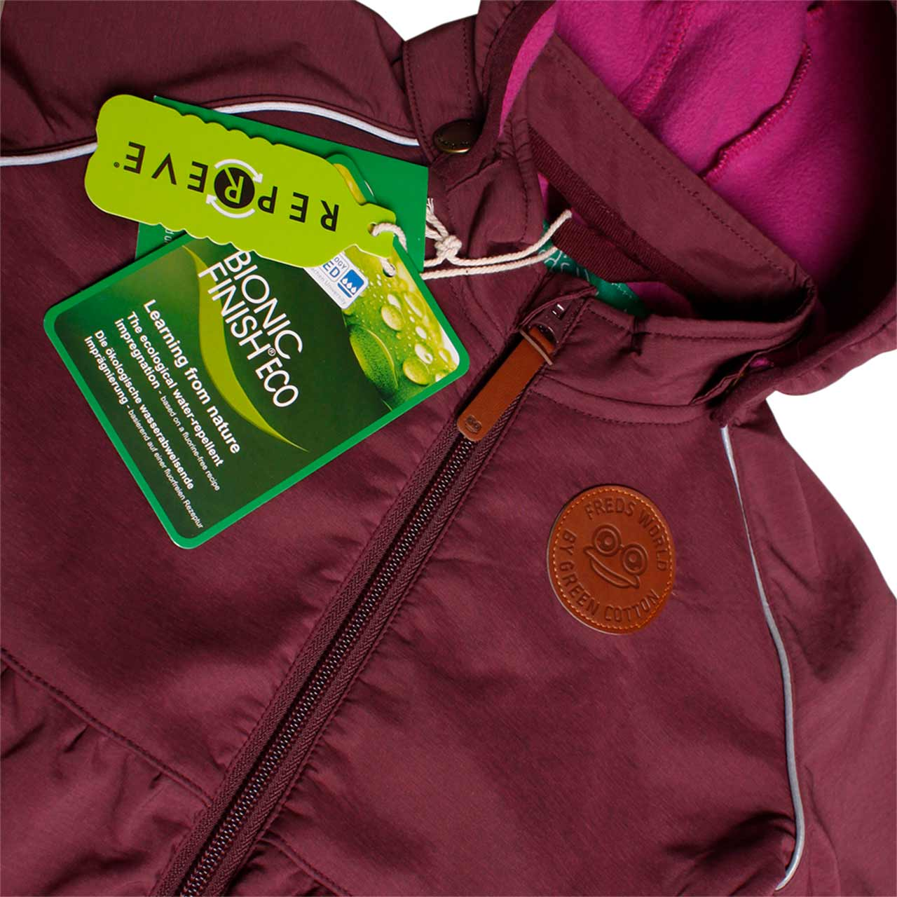Softshelljacke, lila(plum), Freds World