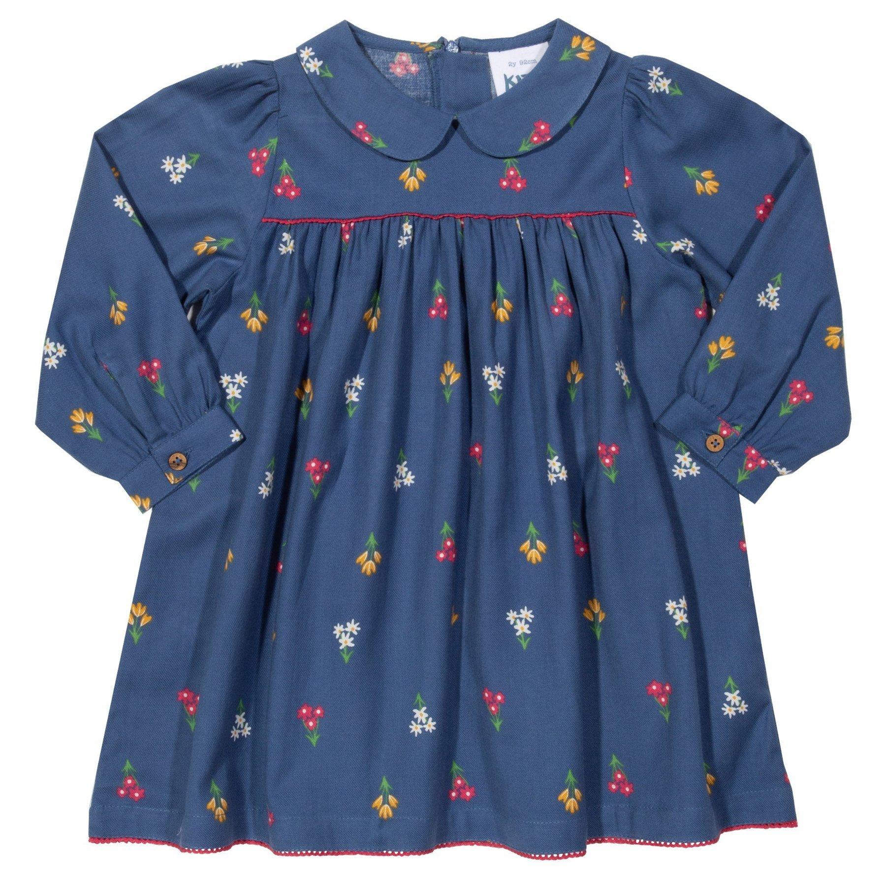 Kleid mit Kragen im Retrolook von Kite