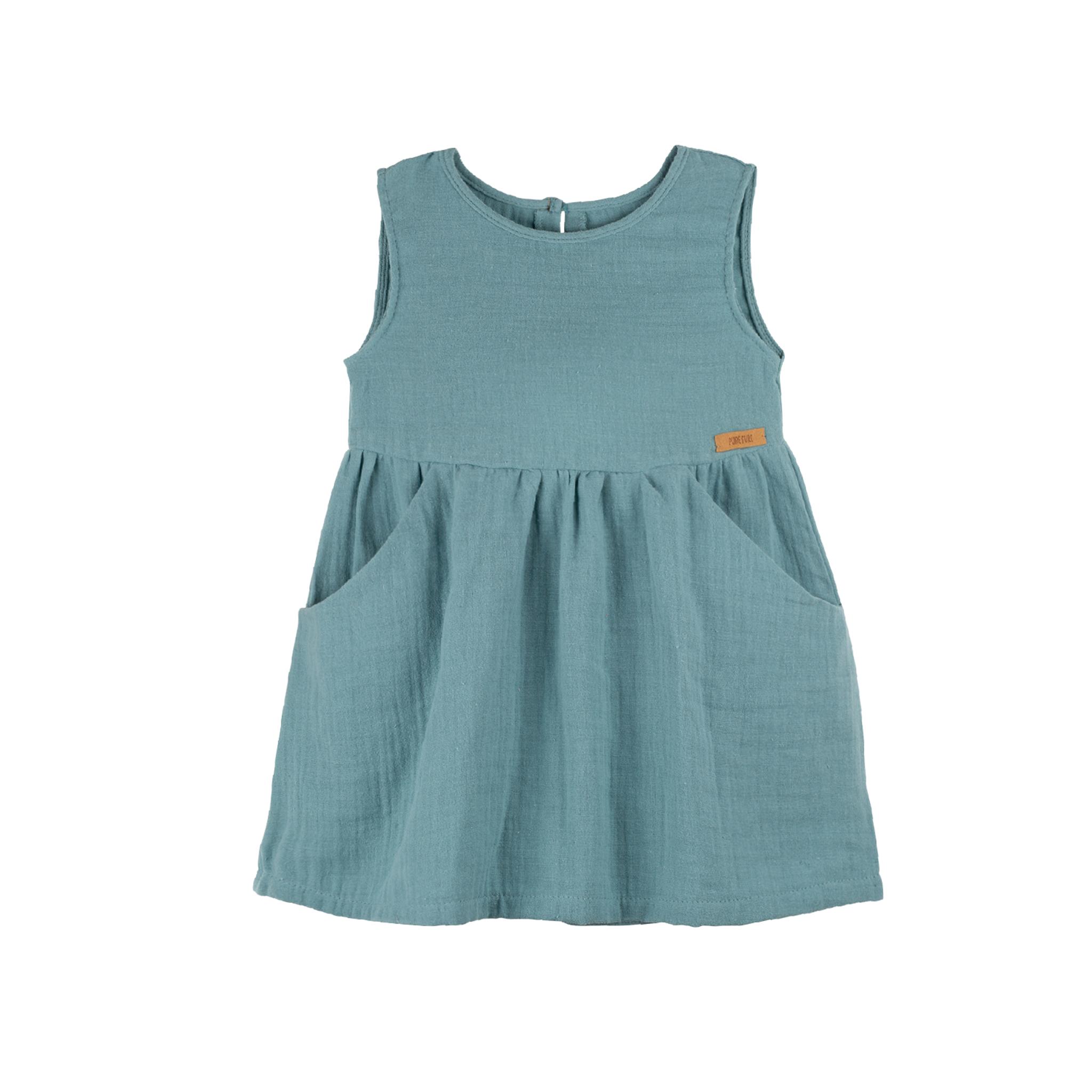Kleidchen aus feinem Mull / PURE PURE