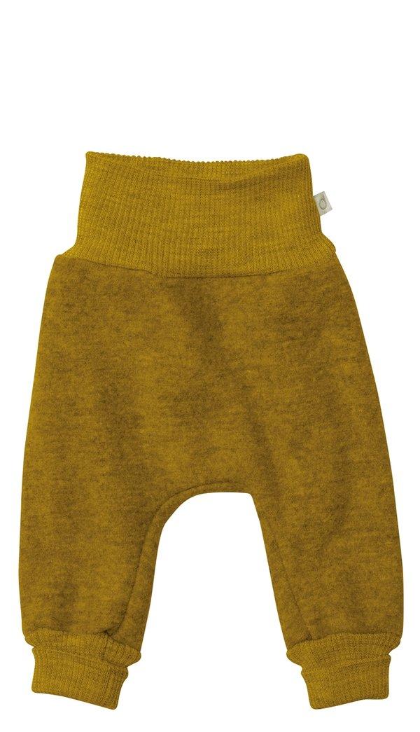 Wollwalkhose, gold-grün, disana