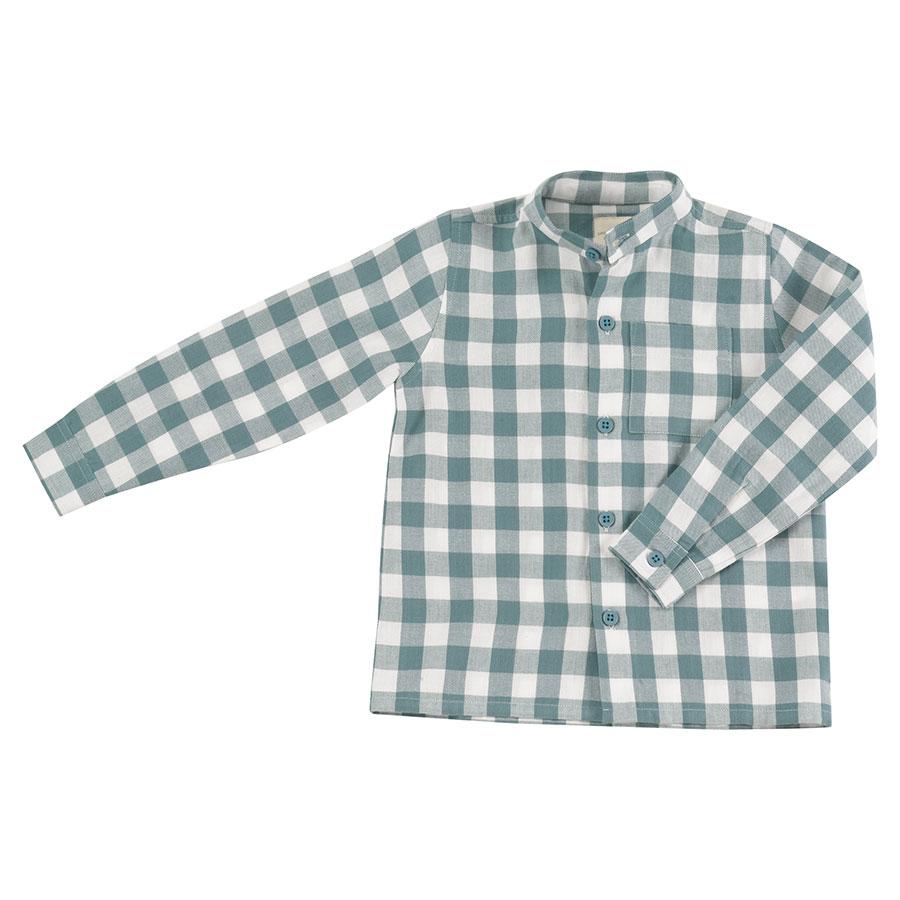 Hemd ohne Kragen von Pigeon Gr. 92-98
