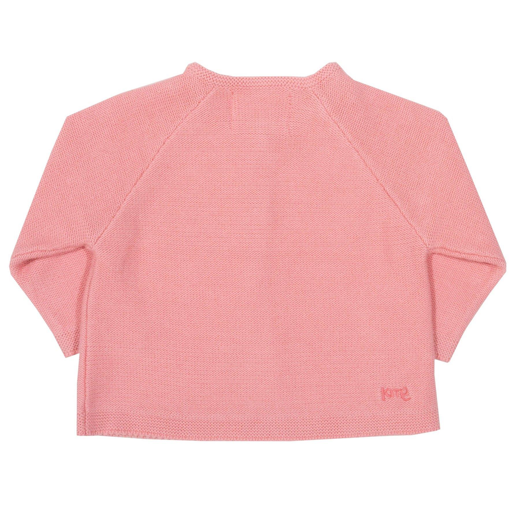 Strickjacke mit Knöpfen, rosa