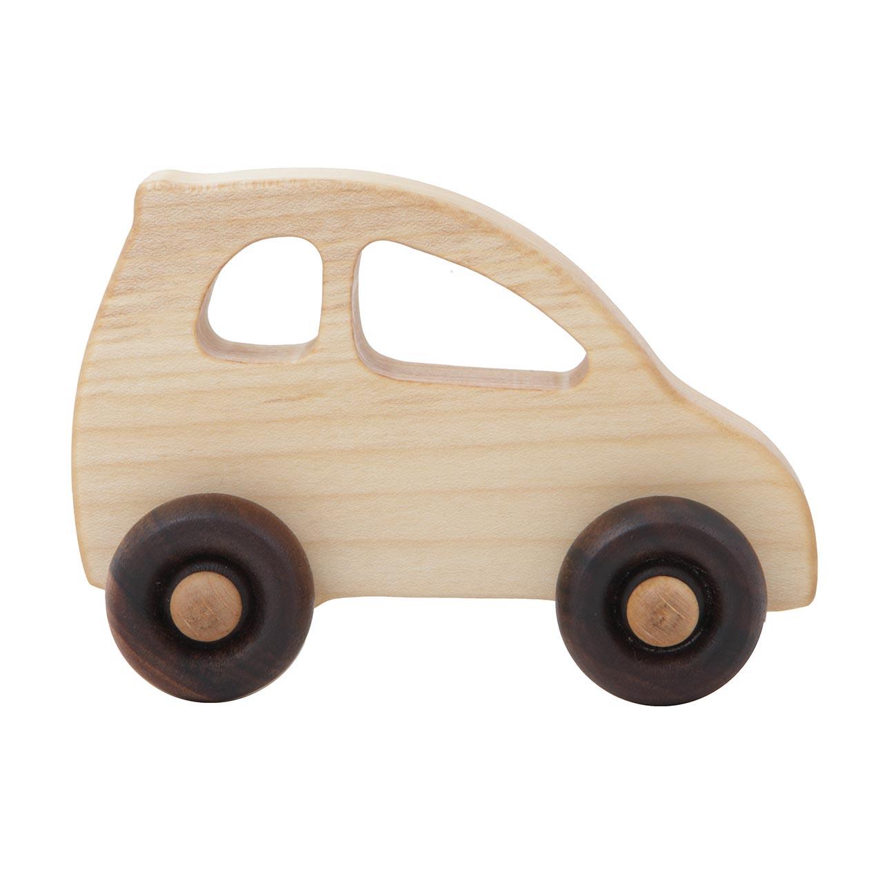 """Holzauto, """" Elektro (Eco Car)"""", Wooden Story"""