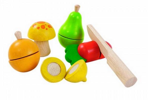 Lernfrüchte aus Holz