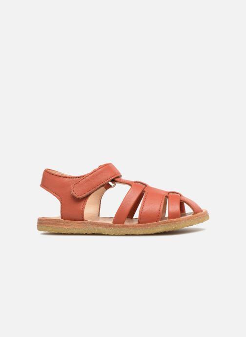 Sandalen aus Leder mit Riemchen