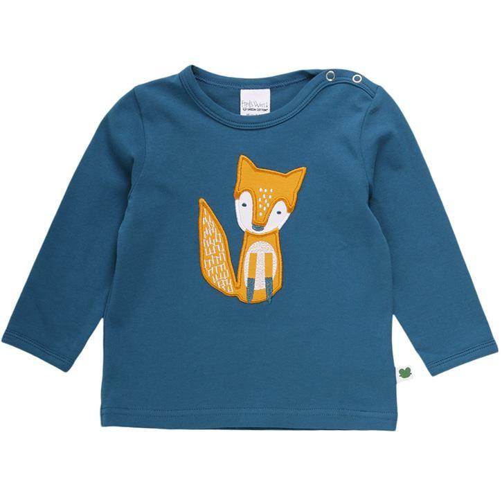 Shirt, langarm, Fuchs